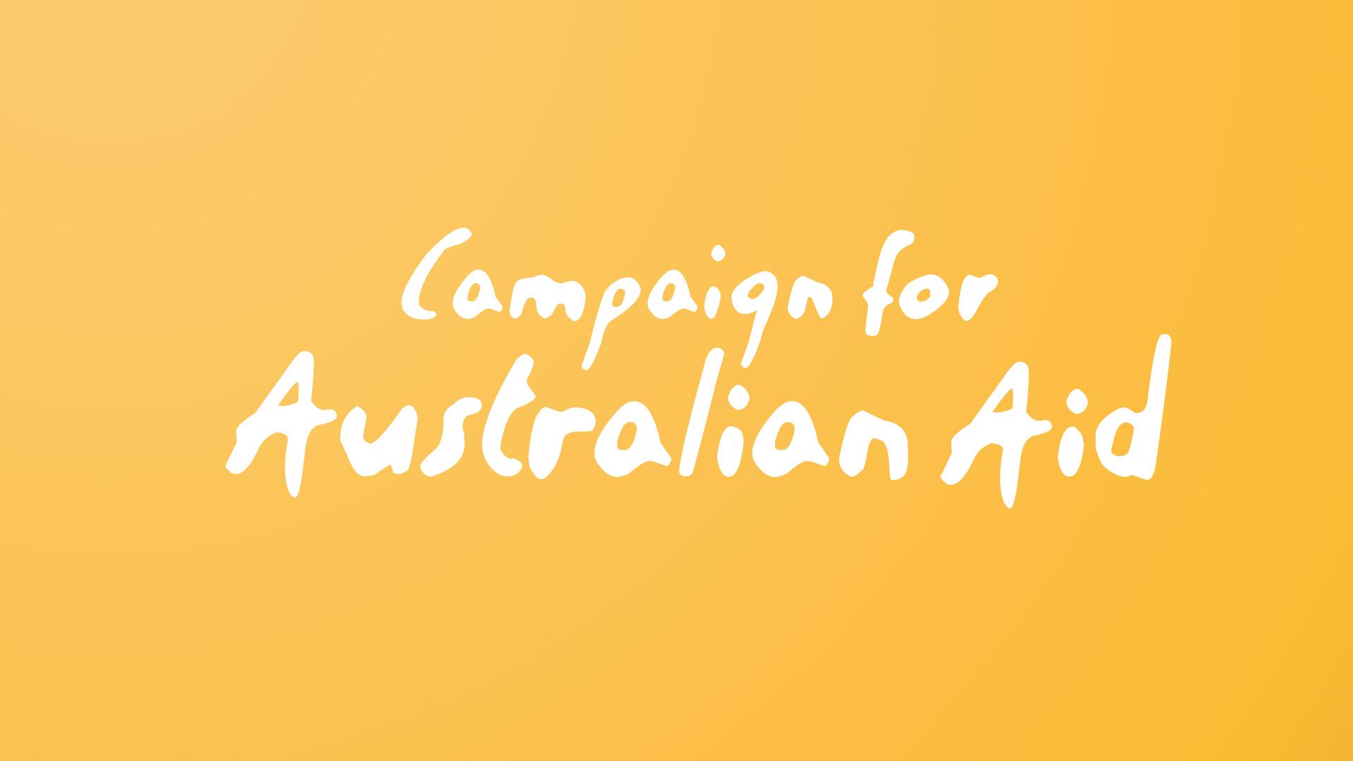 Campaign for Australian Aid