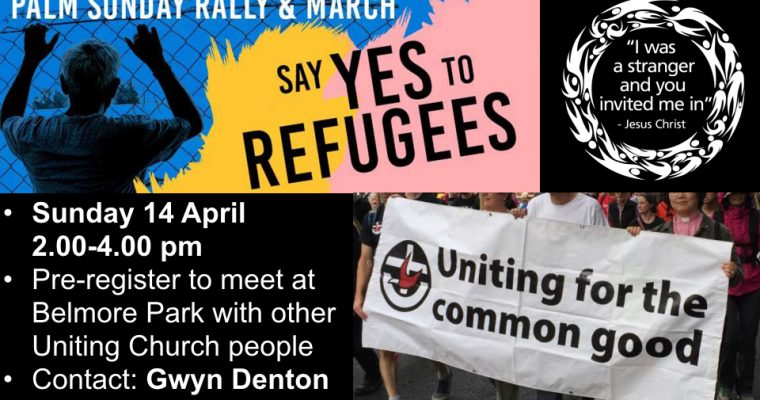 """Say """"yes"""" to refugees"""