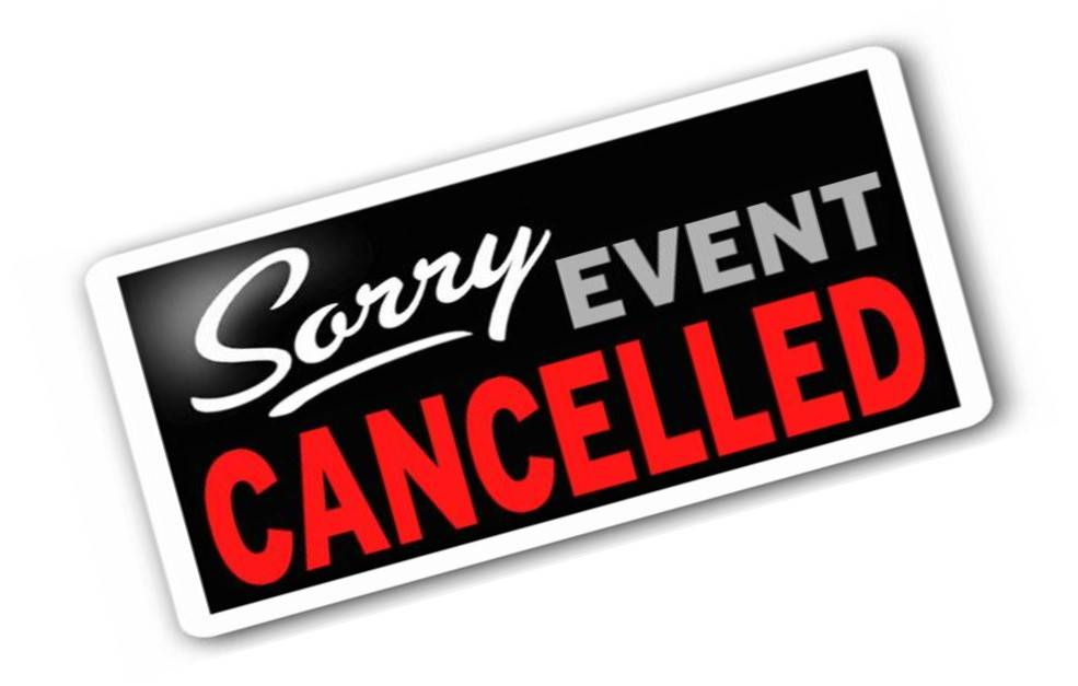 Ecumenical Service Cancelled