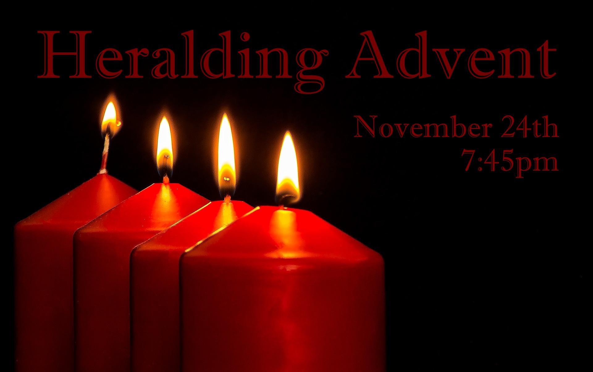 Heralding Advent
