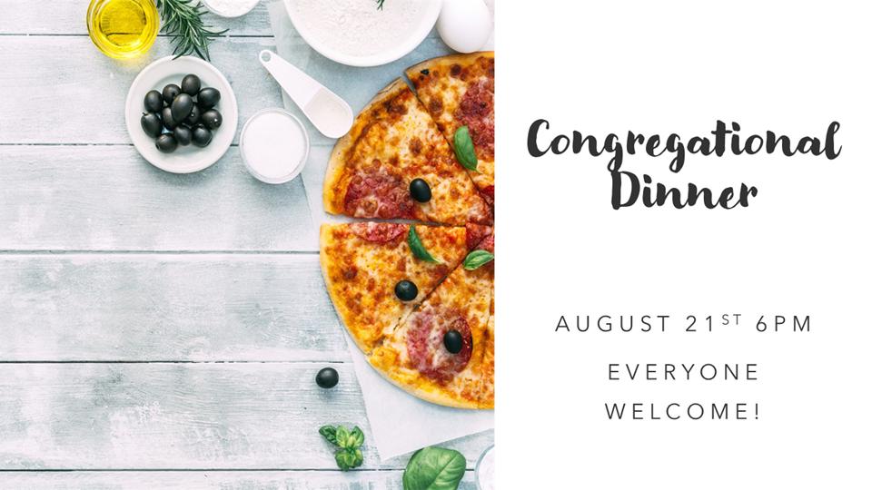 Congregational Dinner