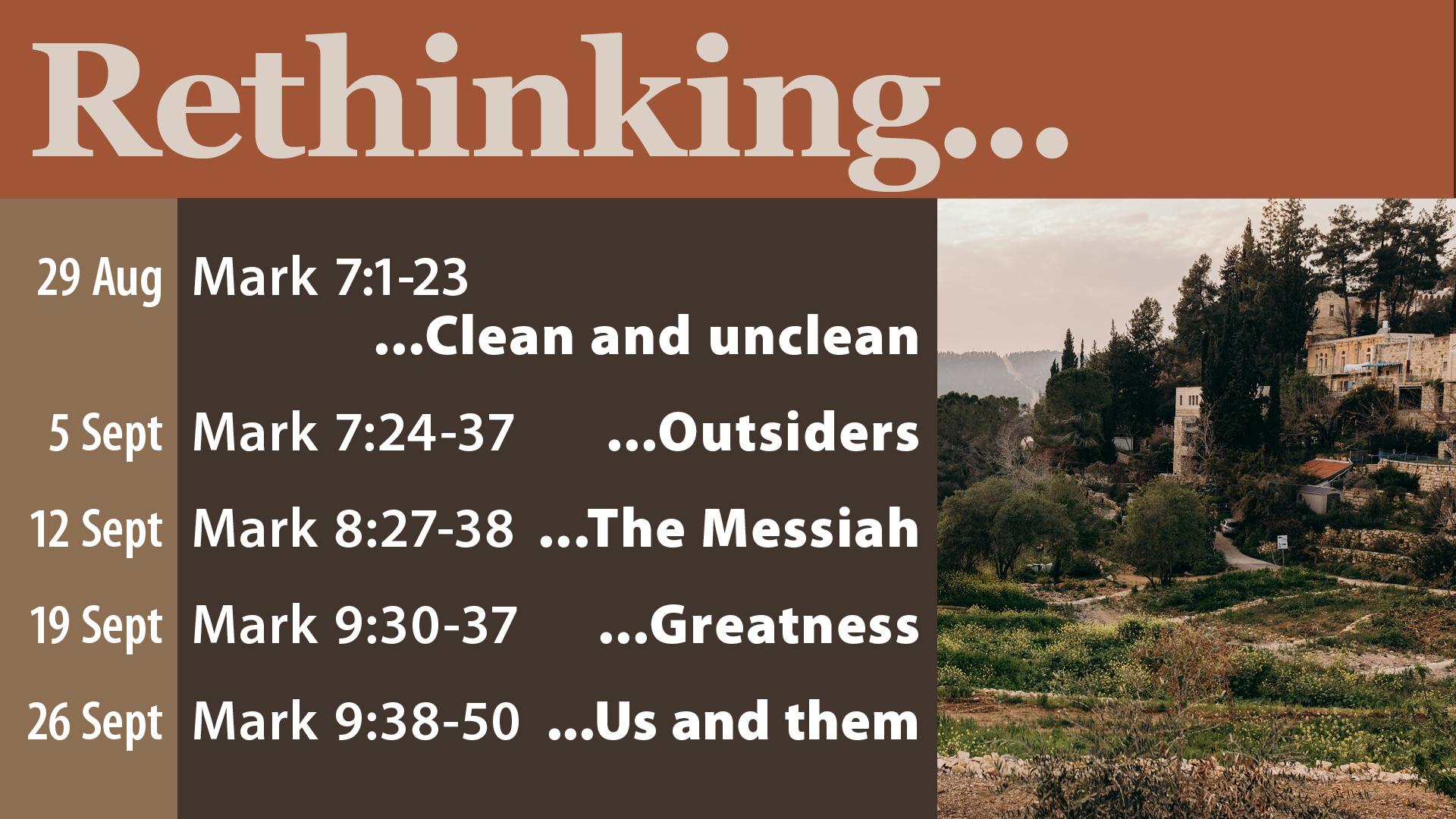 Rethinking…
